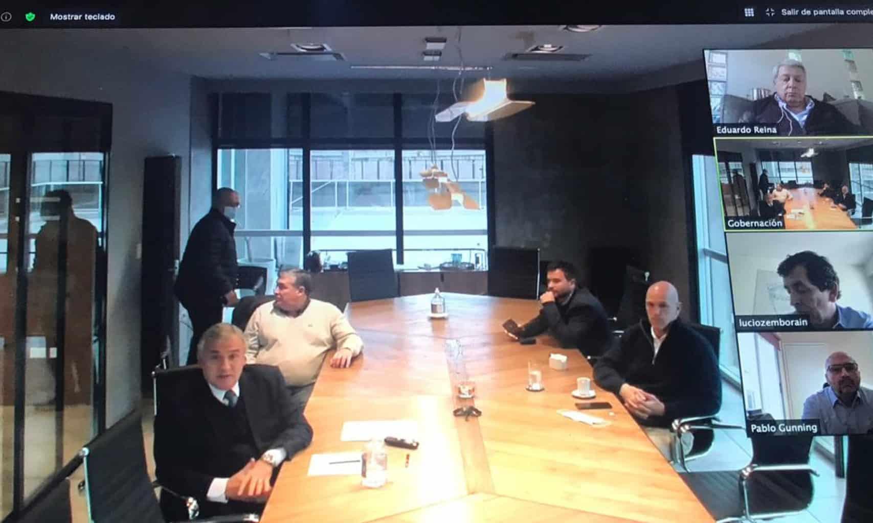 Reunión de FAETyL con el Gobernador Gerardo Morales